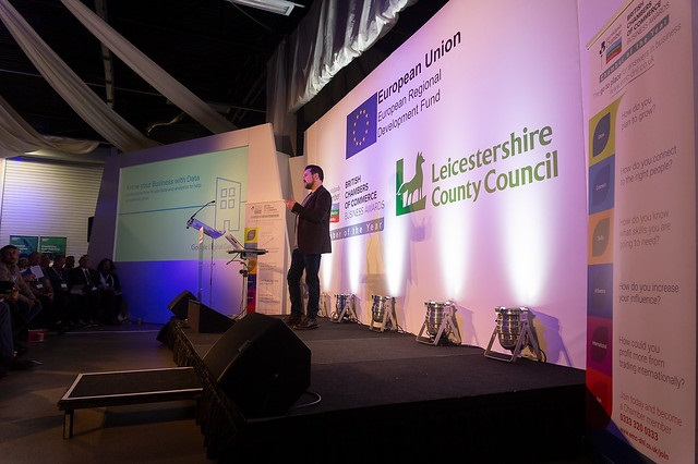 speaker at the superfast leicestershire digital conference