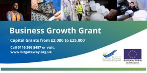 Business growth grant advert